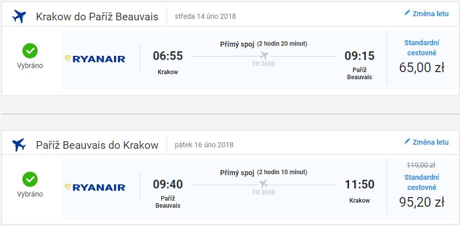 Letenka: Budapešť - Paríž za 42.00€ spiatočne